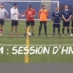 Session d'hiver de la Ligue amicale de soccer de Montréal : soccer sur turf, futsal, volleyball, badminton. futnet